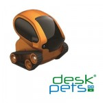 Desk Pets Tankbot Orange