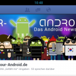 Facebook Native Android App