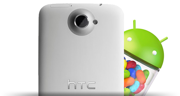 HTC One X Android 4.1.1 Jelly Bean