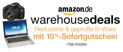Amazon Warehousedeals 10 Prozent