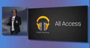 Google I/O 2013 Play Music All Access