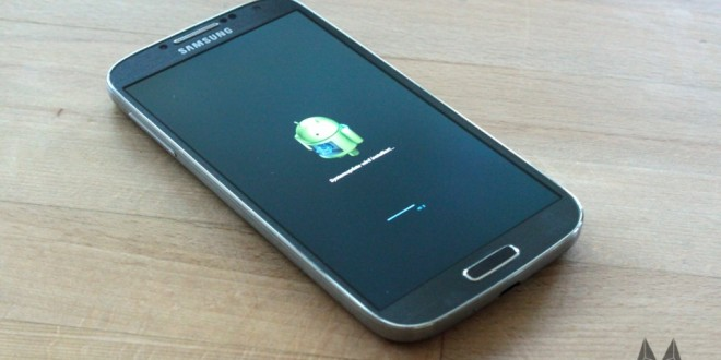 Samsung GALAXY S4 Firmware Update