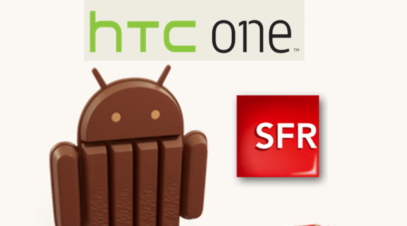 SFR HTC One KitKat